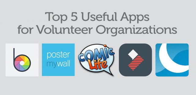 Top 5 Useful Apps for Volunteer Organizations image